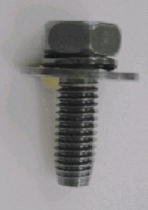 ABS 6X18 スプリング・平ワッシャー付・トヨタ系に使用